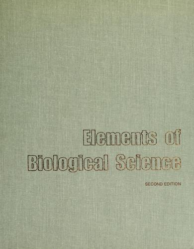 Elements of biological science