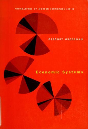 Economic systems. —