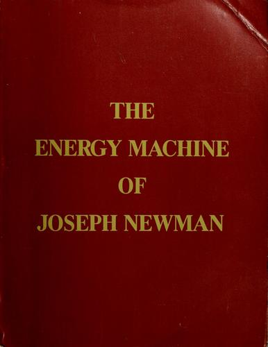 The energy machine of Joseph Newman