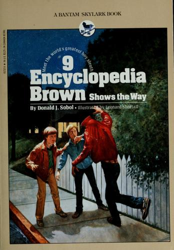 Download Encyclopedia Brown shows the way