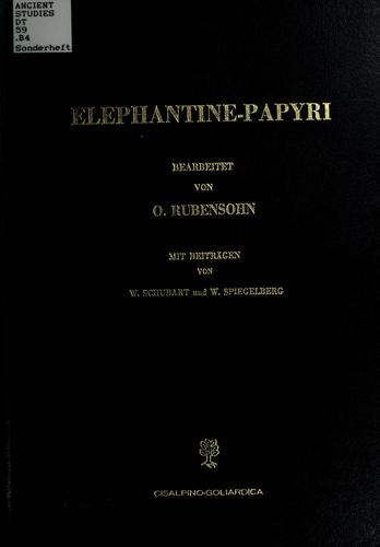 Download Elephantine-Papyri.