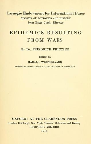 Download Epidemics resulting from wars