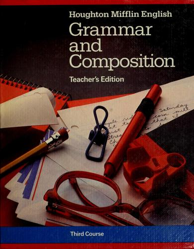 English Grammar and composition by