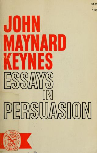 Download Essays in persuasion.
