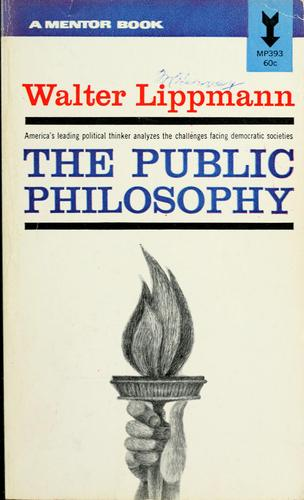 Download Essays in the public philosophy