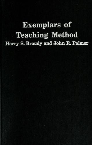 Exemplars of teaching method