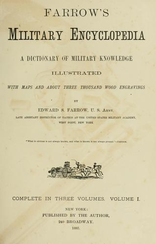Download Farrow's military encyclopedia