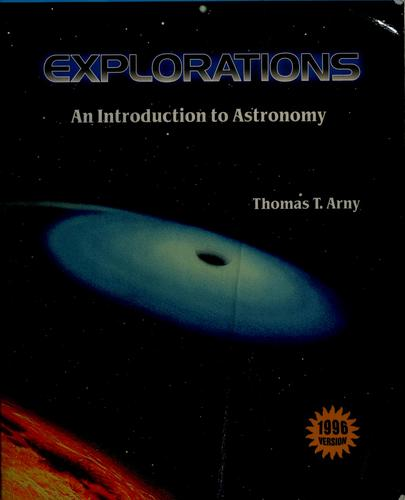 Explorations by Thomas Arny