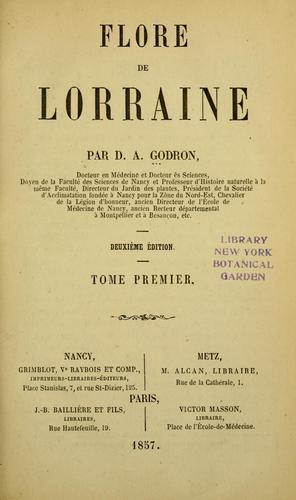 Flore de Lorraine