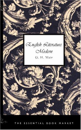 Download English Literature: Modern