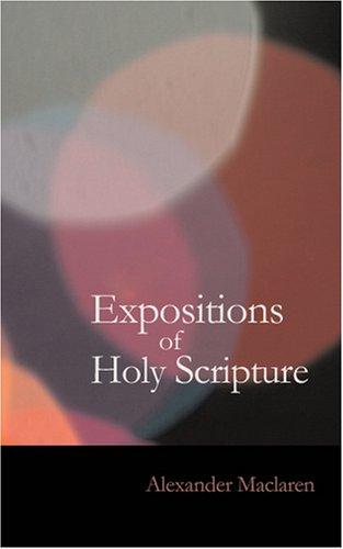 Download Expositions of Holy Scripture- Psalms
