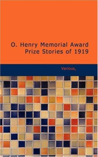 Download O. Henry Memorial Award Prize Stories of 1919