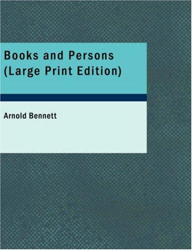 Download Books and Persons (Large Print Edition)