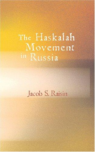 Download The Haskalah Movement in Russia