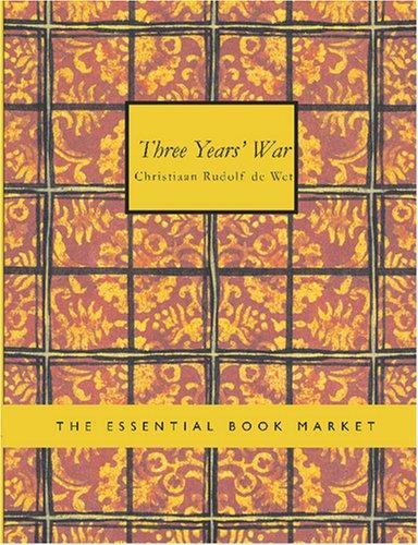 Download Three Years War (Large Print Edition)