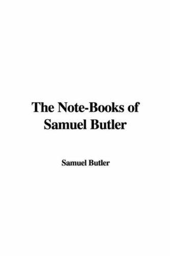 Download The Note-books of Samuel Butler