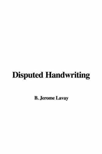 Download Disputed Handwriting