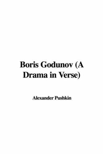 Boris Godunov (A Drama in Verse)