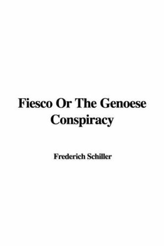 Download Fiesco Or The Genoese Conspiracy