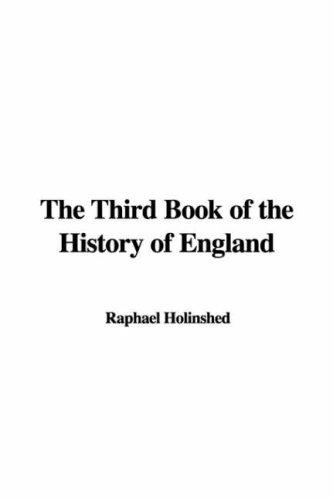The Third Book of the History of England