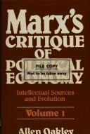 Marx's critique of political economy