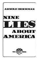 Nine lies about America.