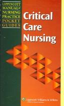 Download Lippincott Manual of Nursing Practice Pocket Guide