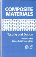 Composite materials : testing and design (tenth volume)
