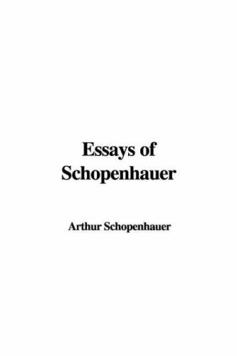 Download Essays of Schopenhauer
