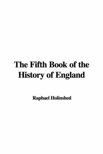 The Fifth Book of the History of England