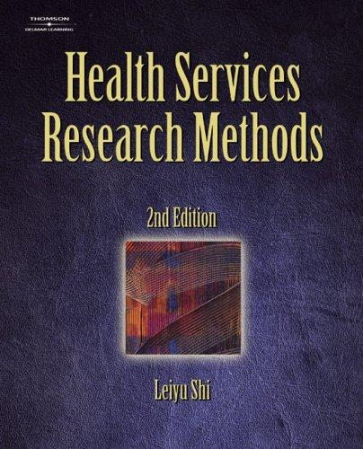 Download Health Services Research Methods