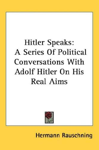Hitler Speaks