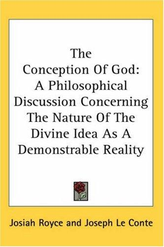 Download The Conception Of God