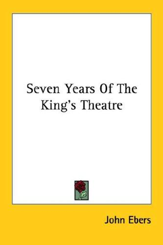 Download Seven Years Of The King's Theatre