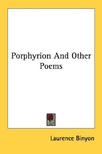 Download Porphyrion And Other Poems