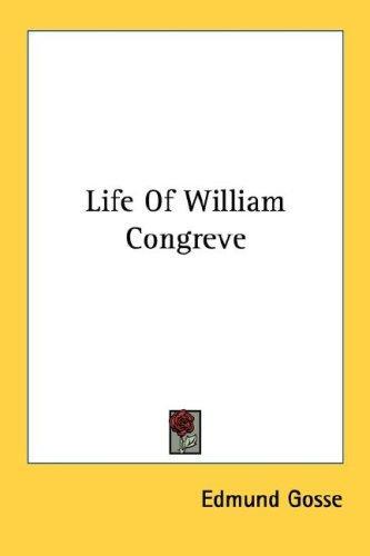 Download Life Of William Congreve