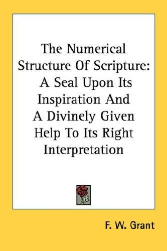 Download The Numerical Structure Of Scripture