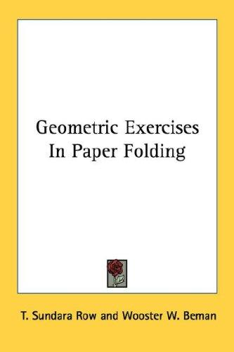 Download Geometric Exercises In Paper Folding