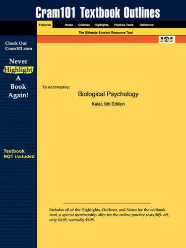 Biological Psychology (Cram101 Textbook Outlines – Textbook NOT Included)