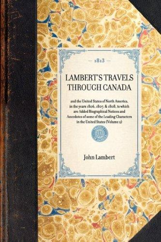 Lambert's Travels Through Canada