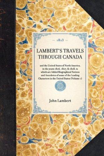 Lambert's Travels Through Canada