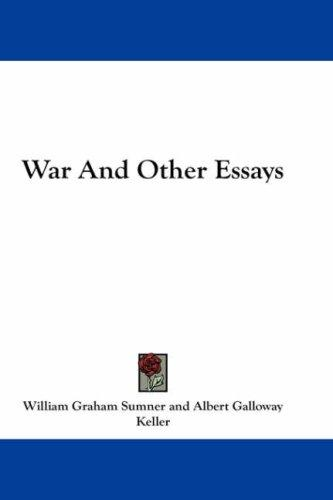 Download War And Other Essays