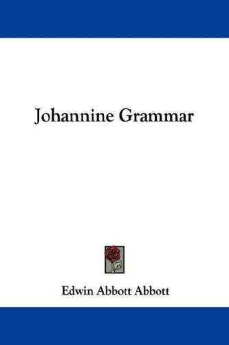 Download Johannine Grammar