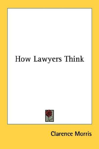 Download How Lawyers Think