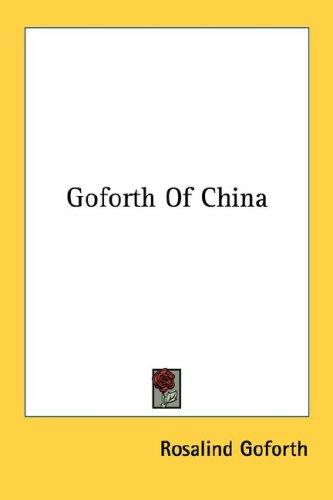 Download Goforth Of China