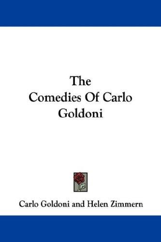 Download The Comedies Of Carlo Goldoni