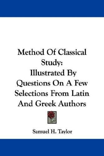 Method Of Classical Study