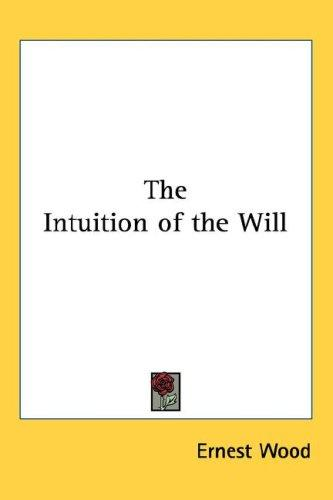Download The Intuition of the Will