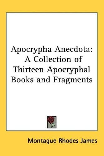 Download Apocrypha Anecdota
