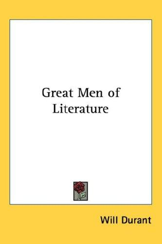 Download Great Men of Literature